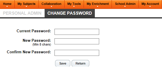 how to change password in hku portal